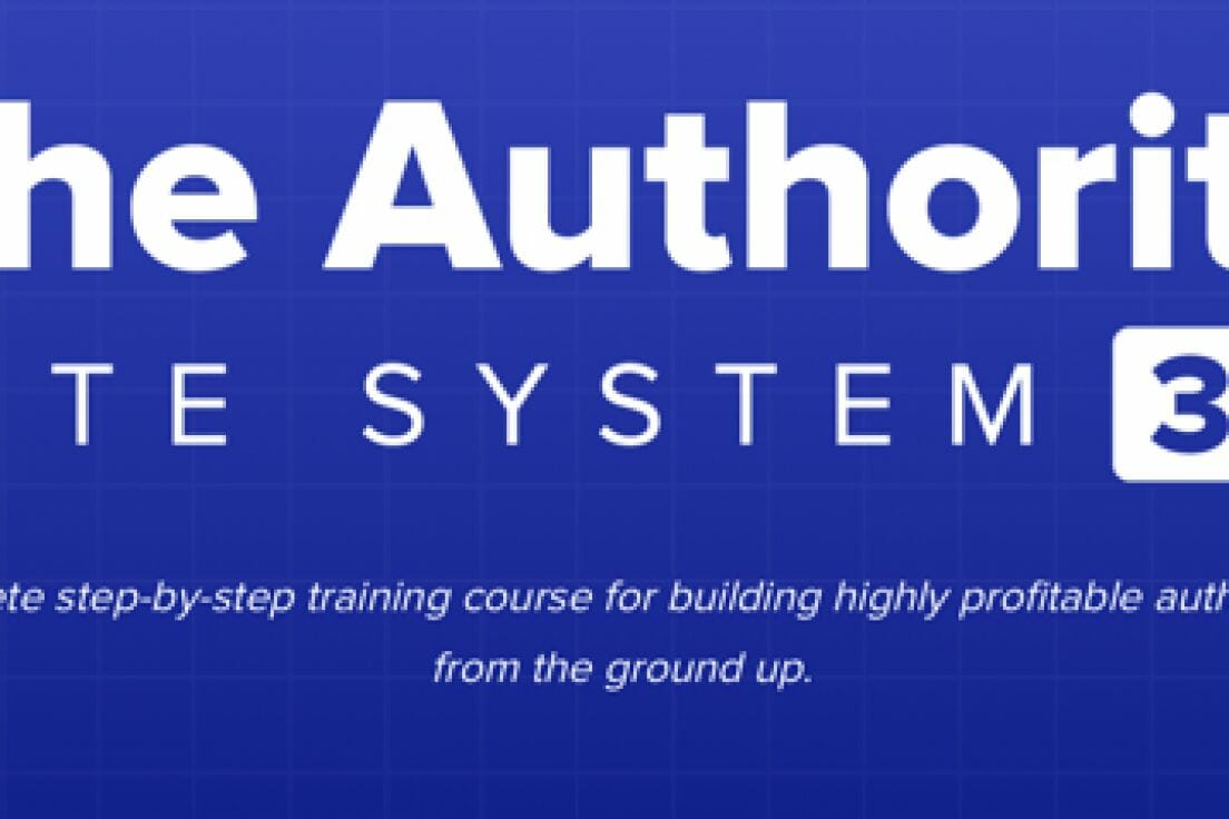 Gael Breton, Mark Webster – The Authority Site System 3.0