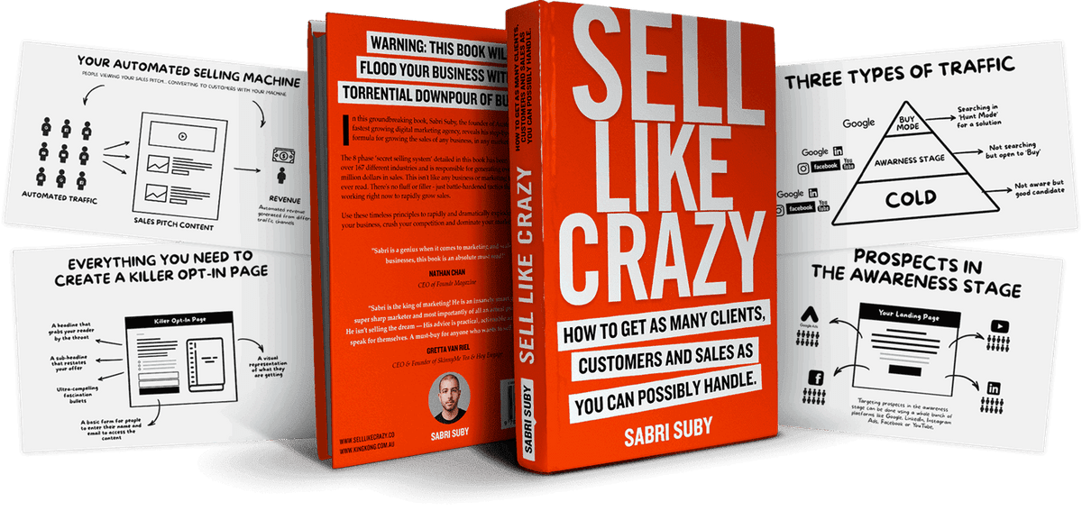Sabri Suby – Sell Like Crazy