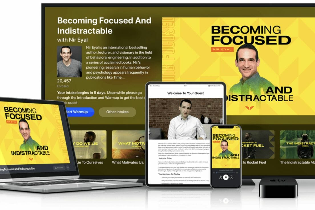 MindValley – Becoming Focused and Indistractable